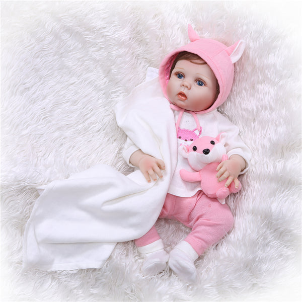Realistic Dolls with Clothes Cute Toy