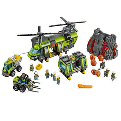 City Legoings Volcano Heavy-lift Helicopter