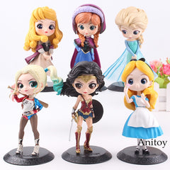 Doll PVC Characters Figures Girls Toys Gifts