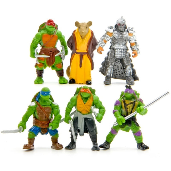 Turtles Toys For Children Anime Figure Doll