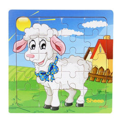 Hot Sale 9/20 Slice Small Piece Puzzle Toy