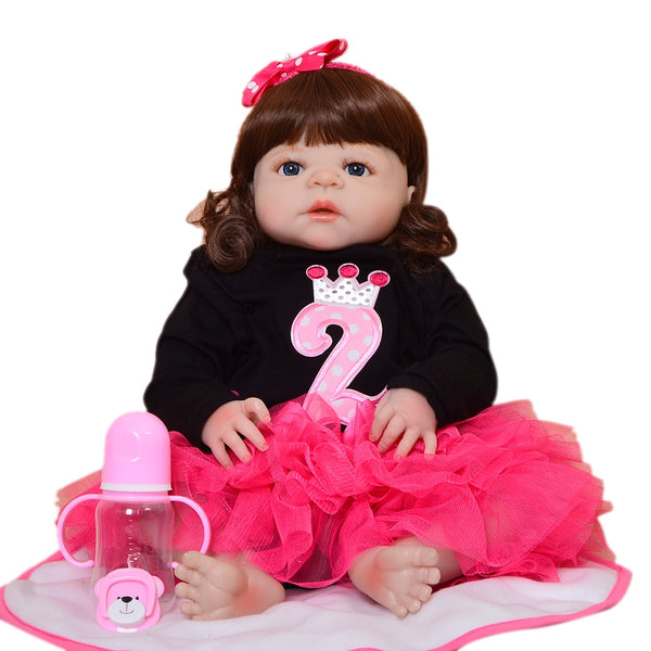 Fashion 23 Inch Realistic Girl Baby Doll