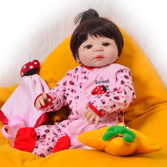 Full Silicone Vinyl Realistic Reborn Baby Doll
