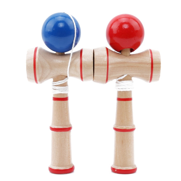 New High Quality Safety Toy Bamboo Kendama