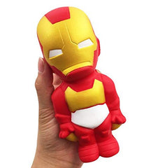Super Hero Squishy Slow rising Iron Man