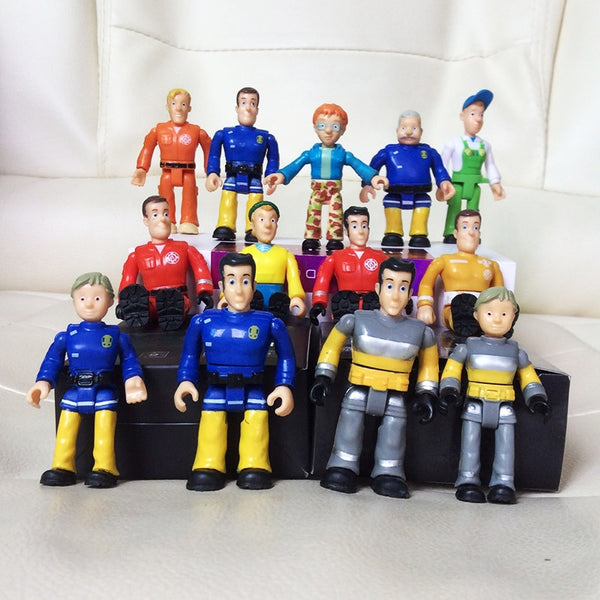 Fireman Sam Action PVC Toys for kids