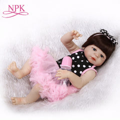 Full Body Silicone Reborn Baby Girl Doll