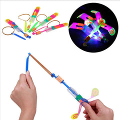 5Pcs Slingshot LED Copter Lighting Up Toy