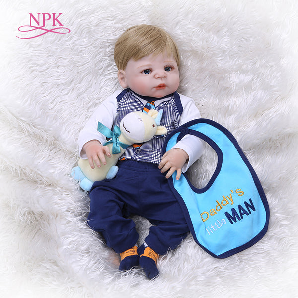 Full Silicone Body Reborn Baby Doll Toy