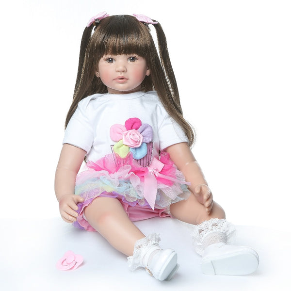 Fun toy soft touch lifelike real doll gift Christmas