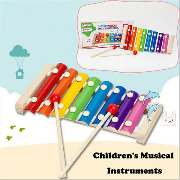 Colorful Children's Musical Instruments