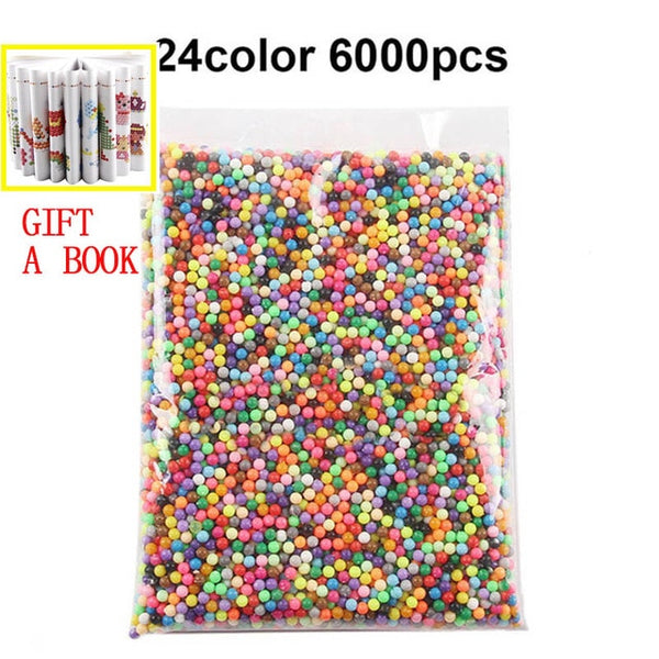 6000 pcs DIY Magic Beads Animal Molds