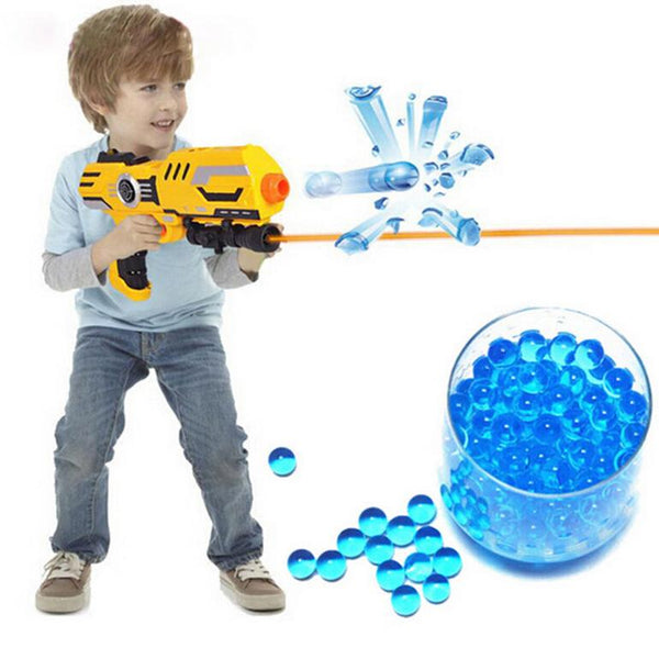 Packet colored soft crystal water paintball gun