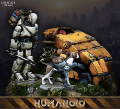 Assembly  Kits 1/20 90mm  Humanoid  character