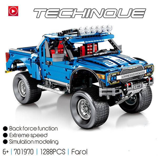 Car building block bricks set