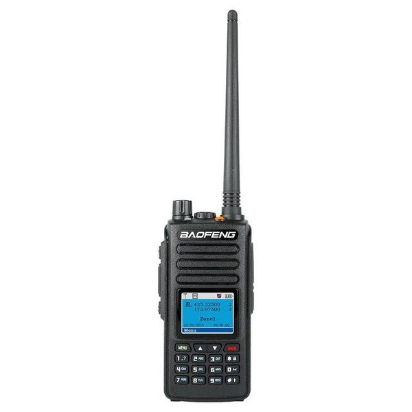 Long Range Walkie Talkie Radio Dual Black Band