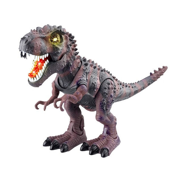 Electric toy large size walking dinosaur robot