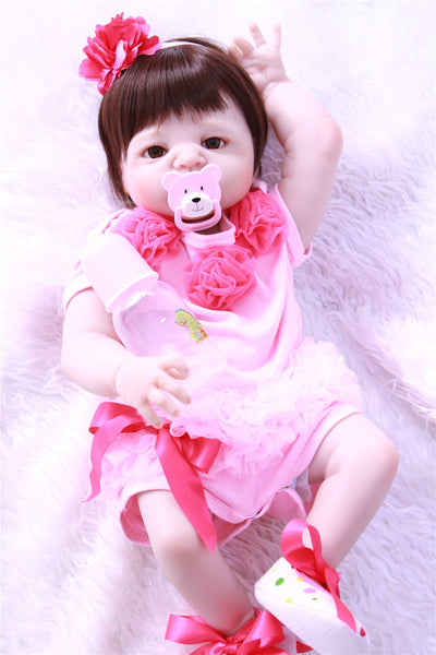 Full silicone reborn baby dolls Toy