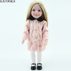 Fashion Girl Doll Soft Silicone 18 inch
