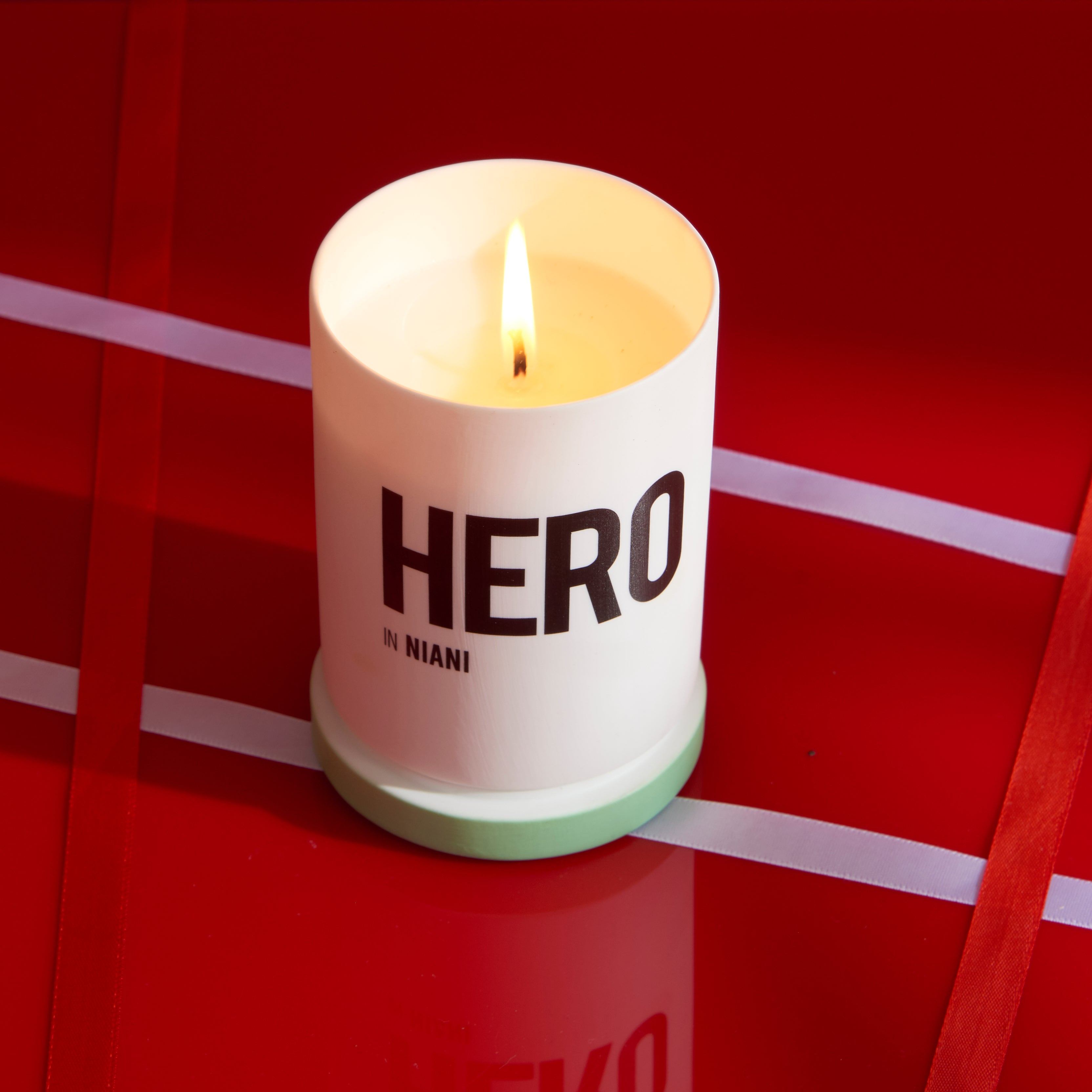 Hero Scented Candle by Nomad Noe