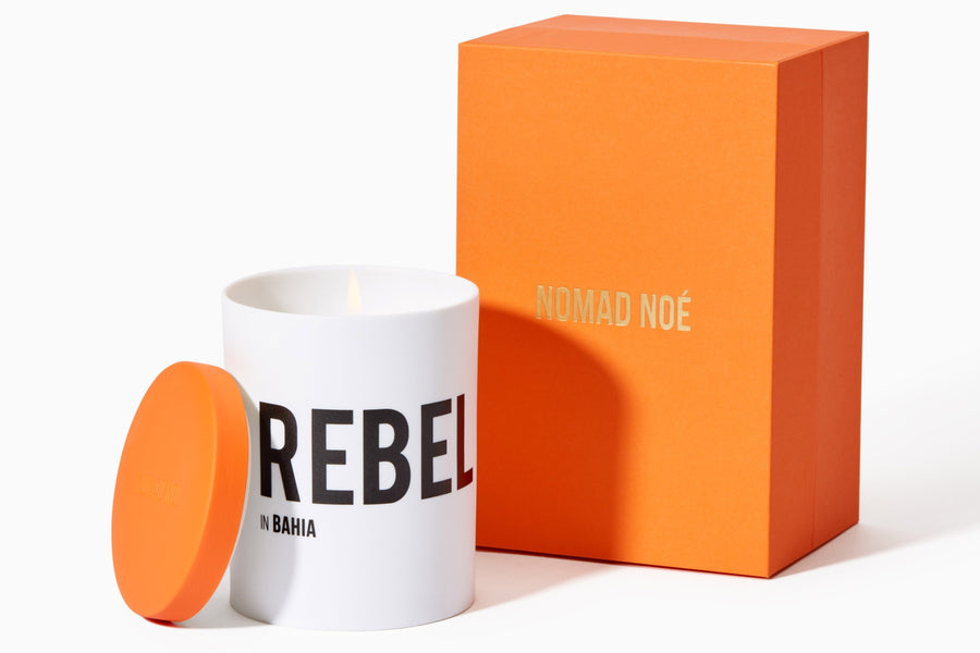 REBEL in Bahia - Neroli & Incense candle - Nomad Noé