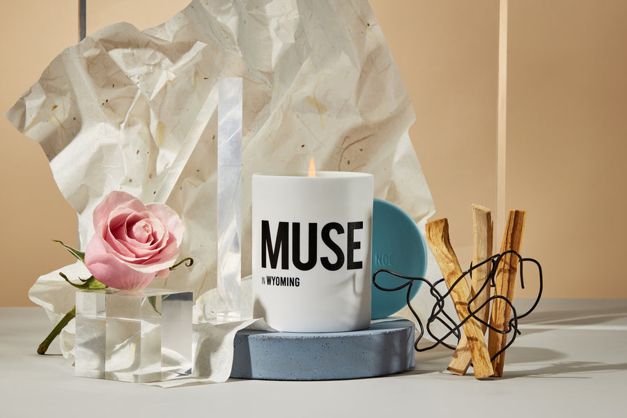MUSE in Wyoming - Rosa Woodsii & Sandalwood candle - Nomad Noé