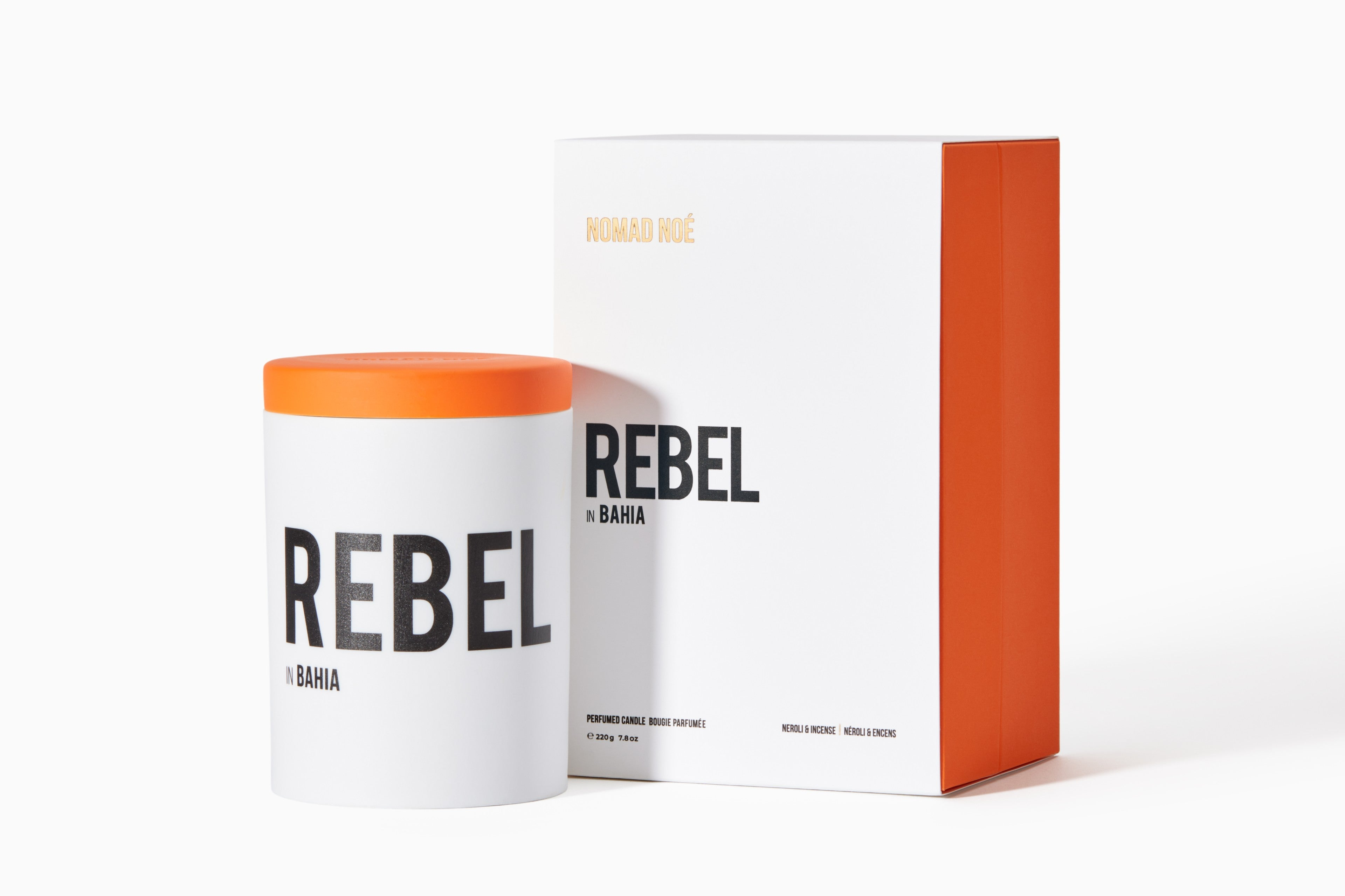 Rebel Scented Candle by Nomad Noé