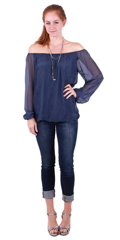 Bell Sleeved Blouse