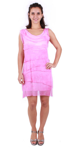 Racer Back Ruffle Dress