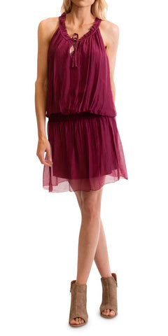 Full Length Ruffle Dress