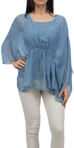 Off Shoulder Peasant Blouse