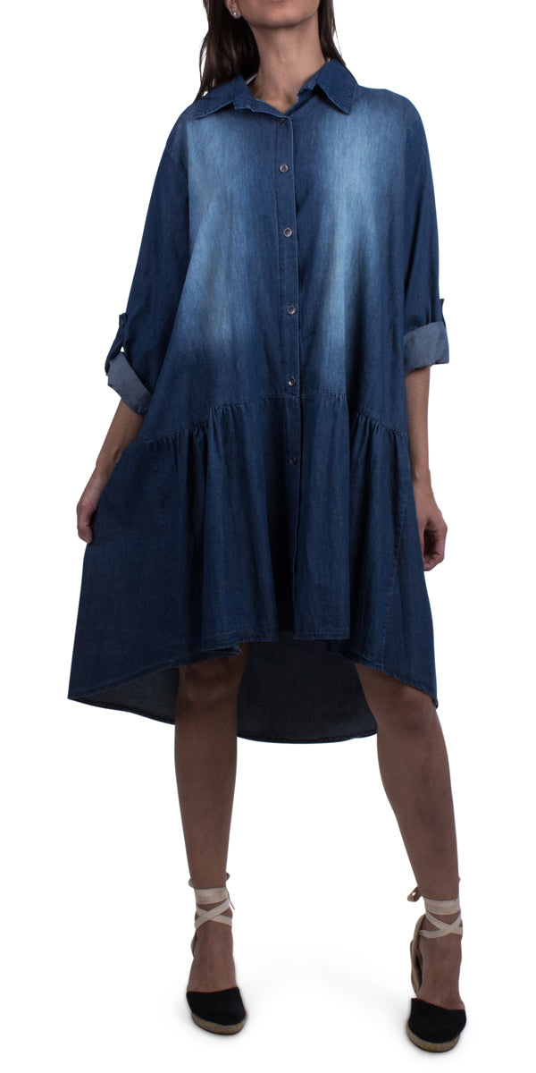 Elisa Denim Dress