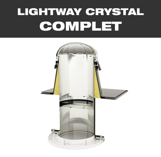 LW CRYSTAL COMPLET 300 for flat roof