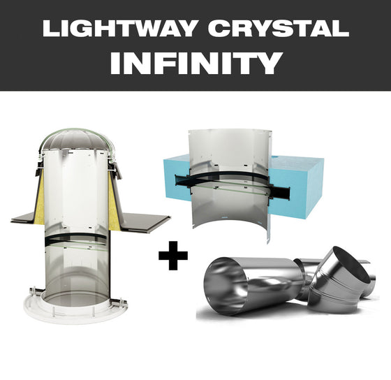 LW CRYSTAL INFINITY 400 for flat roof