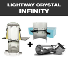LW CRYSTAL INFINITY 600 for flat roof