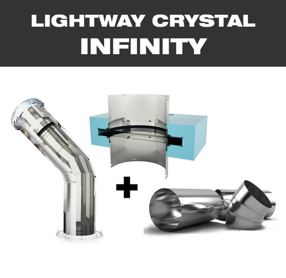 LW CRYSTAL INFINITY 400 for smooth pitched roof