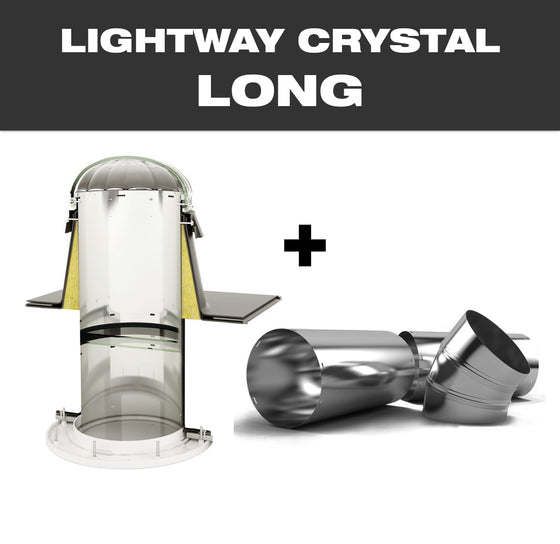 LW CRYSTAL LONG 400 for flat roof
