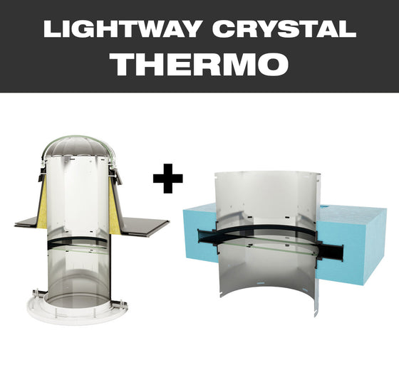 LW CRYSTAL THERMO 600 for flat roof