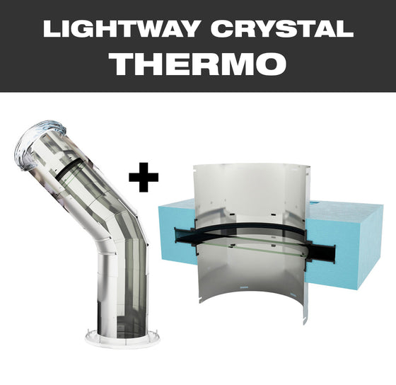 LW CRYSTAL THERMO 300 for profiled pitched roof