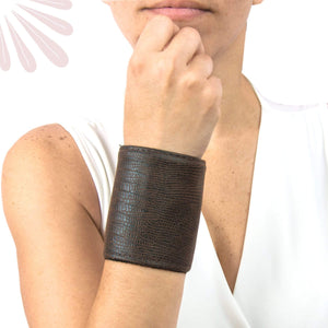 Vegan Leather and Suede Wrist Wallets