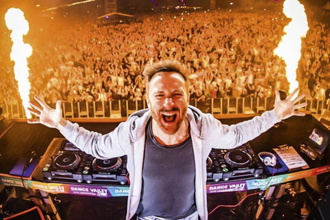 Most Popular Music Festival DJ's you Don't Want to Miss - David Guetta Unique Vibe