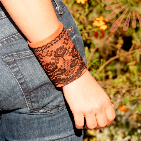 Wrist wallet, wearable wallet by SoFree Creations