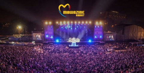 The Biggest Music Festivals In The World By Attendance - Mawazine music-festival