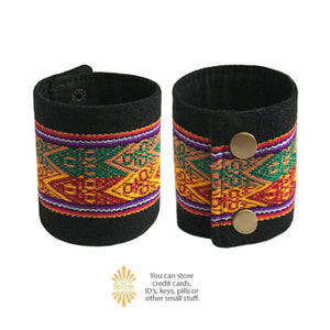 Ethnic Peruvian Wrist Wallet By SoFree Creations