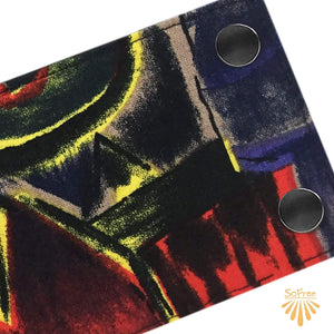 Paint Strokes Wrist Wallet By SoFree Creations