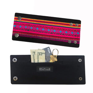 SoFree Creations Wrist Wallet Denim Wrist Wallet