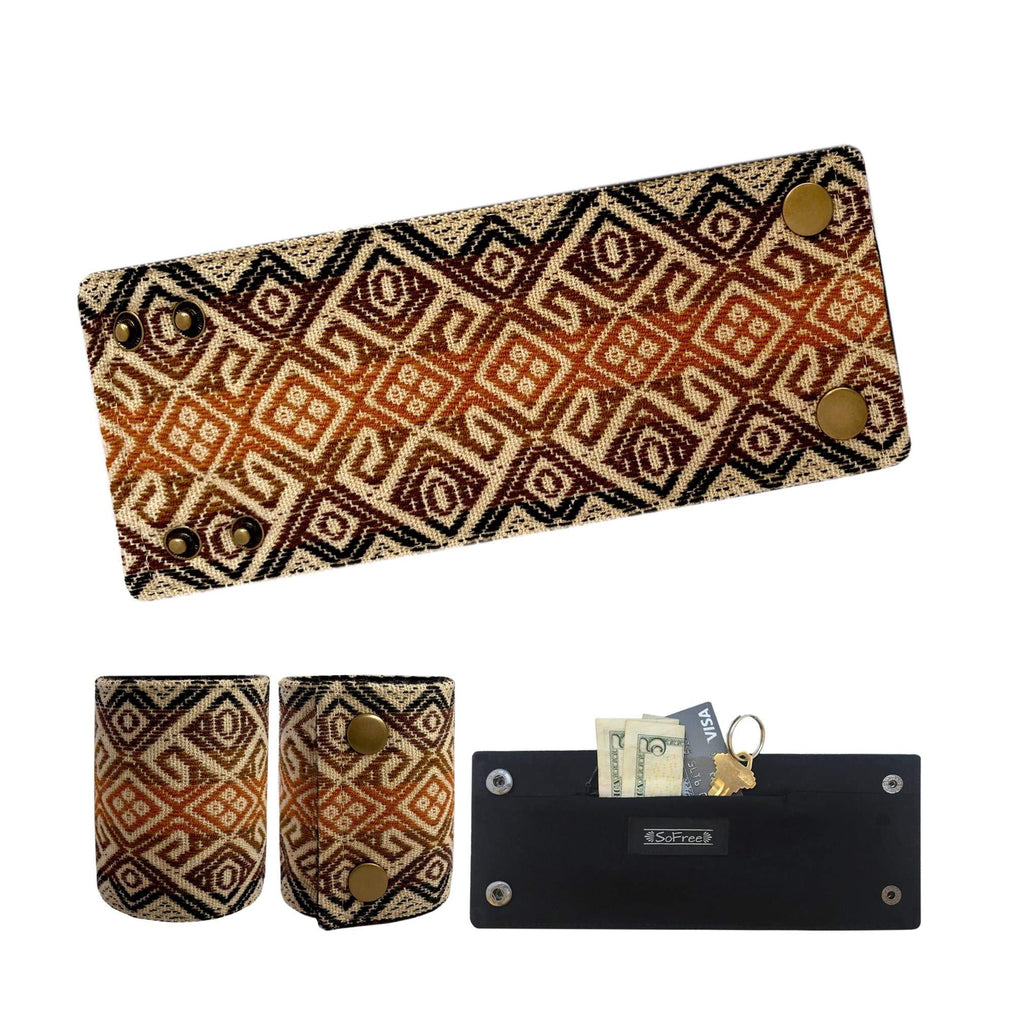 SoFree Creations Wrist Wallet Ethnic Peruvian Wrist Wallet 2