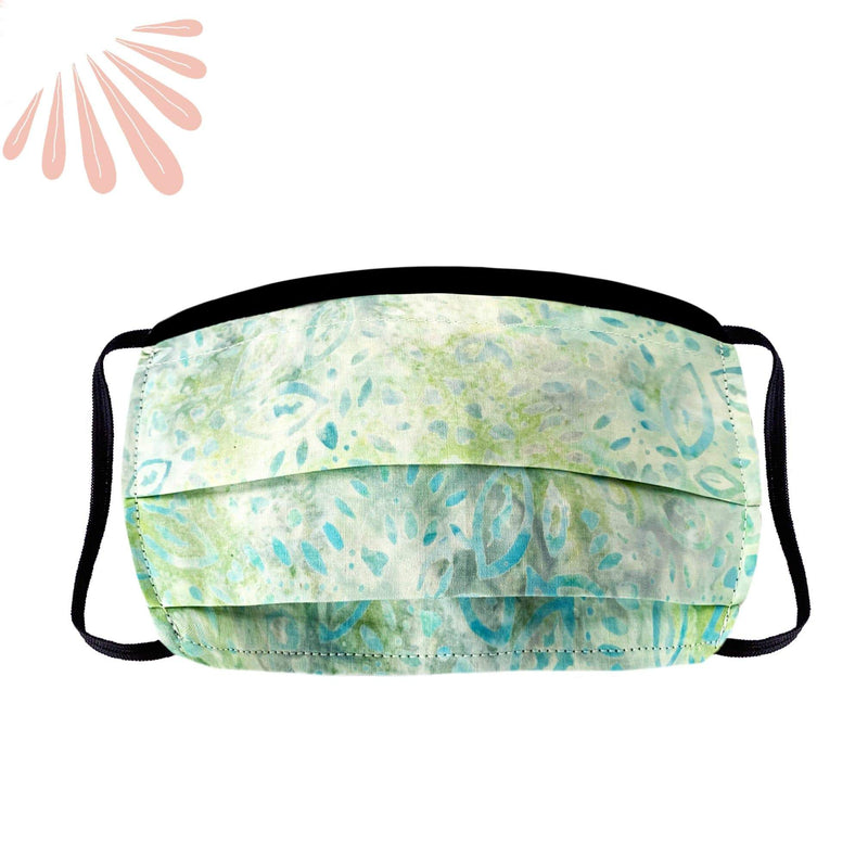 SoFree Creations Face Mask Face Mask with Filter Pocket - 100% Cotton Batik 12