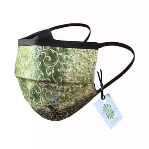 SoFree Creations Face Mask Face Mask with Filter Pocket - 100% Cotton Batik 14