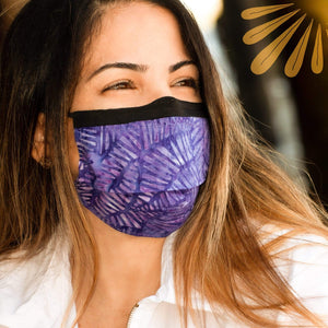 SoFree Creations Face Mask Face Mask with Filter Pocket - 100% Cotton Batik 9
